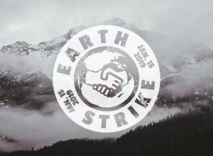 strajk dla ziemi grafika logo